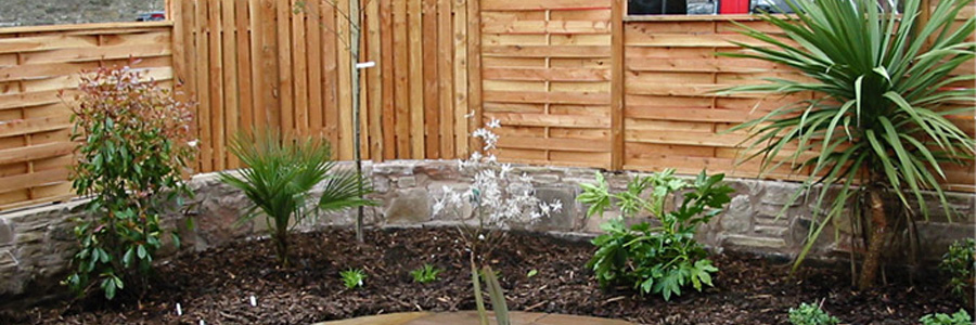 Edinburgh Garden Fence Landscaper Design