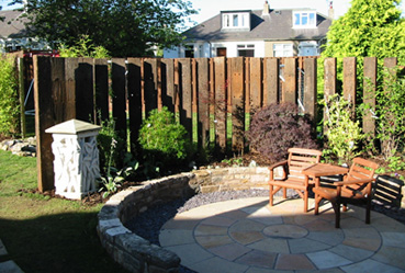 wooden fence design